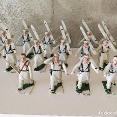Figuras de Goma y PVC: DESFILE TROPA DE MONTAÑA REAMSA . Lote 84415896