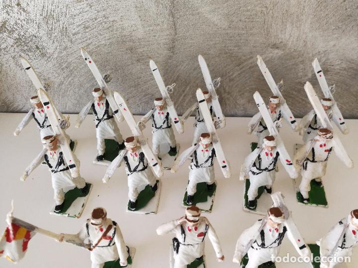 Figuras de Goma y PVC: DESFILE TROPA DE MONTAÑA REAMSA - Foto 4 - 84415896