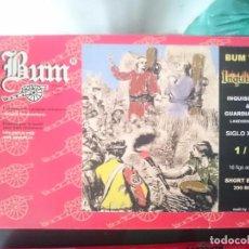 Figuras de Goma y PVC: MUÑECOS BUM - INQUISICION. Lote 84464144