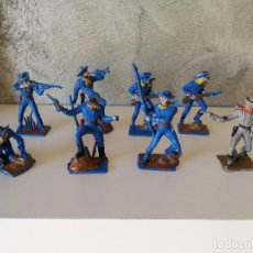 Figuras de Goma y PVC: LOTE SOLDADOS FEDERALES PECH. Lote 84487888