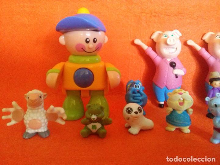 Figuras de Goma y PVC: Lote de figuras..las de las imagenes___todas en buen estado. - Foto 2 - 84618920