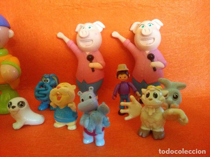 Figuras de Goma y PVC: Lote de figuras..las de las imagenes___todas en buen estado. - Foto 3 - 84618920