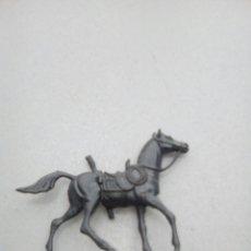Figuras de Goma y PVC: ANTIGUO CABALLO COMANSI NEGRO. Lote 84689175