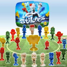 Figuras de Goma y PVC: 21 STIKEEZ ¡¡FALTAN 4¡¡ LIDL ESPAÑA - MUNDIAL FUTBOL 2016- FUTBOLEROS GOMA VENTOSA SUPERMERCADOS. Lote 84795632