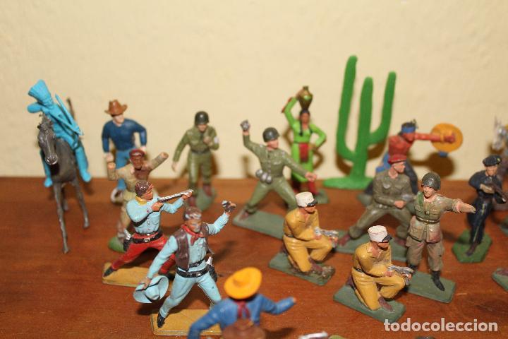 Figuras de Goma y PVC: LOTE DE FIGURAS STARLUX,COMANSI,BRIAIS,TIMPO,REAMSA,PECH.....AÑOS 60,70,80 - Foto 2 - 84882536