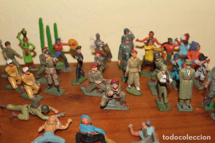 Figuras de Goma y PVC: LOTE DE FIGURAS STARLUX,COMANSI,BRIAIS,TIMPO,REAMSA,PECH.....AÑOS 60,70,80 - Foto 3 - 84882536