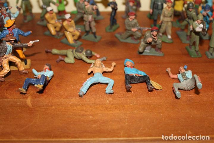 Figuras de Goma y PVC: LOTE DE FIGURAS STARLUX,COMANSI,BRIAIS,TIMPO,REAMSA,PECH.....AÑOS 60,70,80 - Foto 5 - 84882536