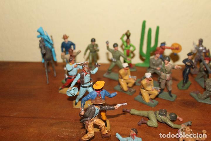Figuras de Goma y PVC: LOTE DE FIGURAS STARLUX,COMANSI,BRIAIS,TIMPO,REAMSA,PECH.....AÑOS 60,70,80 - Foto 6 - 84882536