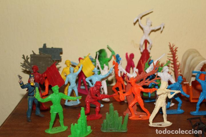 Figuras de Goma y PVC: LOTE DE FIGURAS STARLUX,COMANSI,BRIAIS,TIMPO,REAMSA,PECH.....AÑOS 60,70,80 - Foto 10 - 84882536