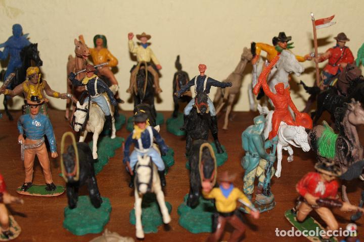 Figuras de Goma y PVC: LOTE DE FIGURAS STARLUX,COMANSI,BRIAIS,TIMPO,REAMSA,PECH.....AÑOS 60,70,80 - Foto 14 - 84882536