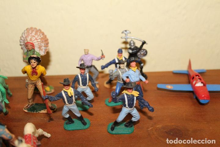 Figuras de Goma y PVC: LOTE DE FIGURAS STARLUX,COMANSI,BRIAIS,TIMPO,REAMSA,PECH.....AÑOS 60,70,80 - Foto 16 - 84882536