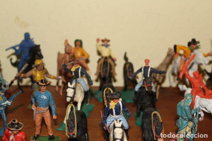 Figuras de Goma y PVC: LOTE DE FIGURAS STARLUX,COMANSI,BRIAIS,TIMPO,REAMSA,PECH.....AÑOS 60,70,80 - Foto 20 - 84882536