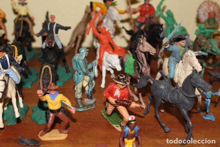 Figuras de Goma y PVC: LOTE DE FIGURAS STARLUX,COMANSI,BRIAIS,TIMPO,REAMSA,PECH.....AÑOS 60,70,80 - Foto 21 - 84882536