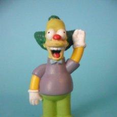Figuras de Goma y PVC: LOS SIMPSONS KRUSTY EL PAYASO FIGURA DE PVC DE 6 CM FOX 1997. Lote 84911580