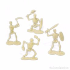 Figuras de Goma y PVC: ESQUELETOS GUERREROS RAY HARRYHAUSEN 6 CM,JECSAN REAMSA COMANSI OLIVER WARHAMMER, ROL, FANTASIA,6 CM. Lote 85016132