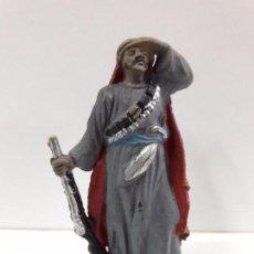 Figuras de Goma y PVC: ARABE BEDUINO FIGURA Nº143 . SERIE LAWRENCE DE ARABIA . REALIZADA POR REAMSA . AÑOS 50 EN GOMA. Lote 85117456