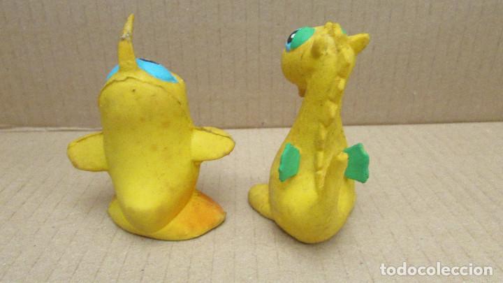 Figuras de Goma y PVC: FIGURAS GOMA LANCO MADE IN SPAIN - SILBIDO - Foto 2 - 85251528