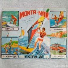 Figuras de Goma y PVC - MONTA MAN / MONTAPLEX - EXTRA Nº 28 ( SOBRE SIN ABRIR ) - 85282384