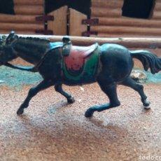 Figuras de Goma y PVC: ANTIGUA FIGURA DEL OESTE EN GOMA. CABALLO COWBOY. PECH HERMANOS. AÑOS 50.. Lote 85307176