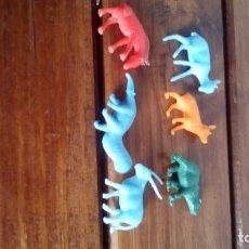 Figuras de Goma y PVC: MUÑECO FIGURA DUNKIN ANIMALES LOTE . Lote 85315924