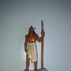 Figuras de Goma y PVC: FIGURA KOCOUM INDIO PRIMER NOVIO DE POCAHONTAS. BULLYLAND. Lote 85326004
