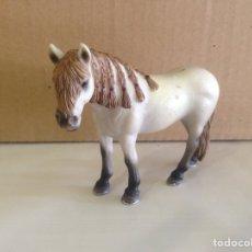 Figuras de Goma y PVC: FIGURA PVC CABALLO TRENZAS SCHLEICH ANIMAL ANIMALES. Lote 85516386
