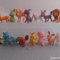 Figuras de Goma y PVC: LOTE 15 ANIMALES, FIGURAS PVC AÑOS 80 MADE IN HONG KONG. Lote 85638216