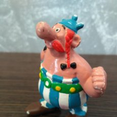 Figuras de Goma y PVC: FIGURA PVC OBELIX EURA SPAIN VINTAGE AÑOS 80 EPOCA COMICS SPAIN. Lote 85754596
