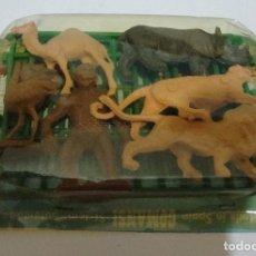 Figuras de Goma y PVC: (TC-105) BLISTER ANIMALES DE COMANSI. Lote 85774064