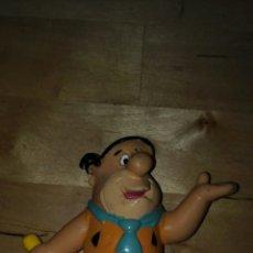 Figuras de Goma y PVC: FIGURA PEDRO PICAPIEDRA ORIGINAL HANNA BARBERA 2001. Lote 85825138