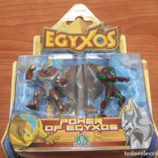 Figuras de Goma y PVC: BLISTER POWER OF EGYXOS DE GIOCHI PREZIOSI - EGIPTO EGIPCIOS. Lote 85845848