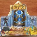 Figuras de Goma y PVC: BLISTER EGYXOS PULSERA DE RA CON CAMARA DE TRANSFORMACION DE GIOCHI PREZIOSI - EGIPTO EGIPCIOS. Lote 85922948