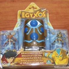 Figuras de Goma y PVC: BLISTER EGYXOS PULSERA DE RA CON CAMARA DE TRANSFORMACION DE GIOCHI PREZIOSI - EGIPTO EGIPCIOS. Lote 85923040