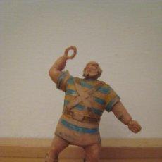 Figuras de Goma y PVC: FIGURA DE GOLIATH. PERSONAJE CAPITÁN TRUENO. ESTEREOPLAST.. Lote 85931388