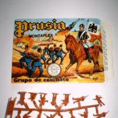 Figuras de Goma y PVC: MONTAPLEX SOBRE Nª 166 PRUSIA VACÍO + 1 COLADA DE SOLDADOS PRUSIANOS. Lote 86049984