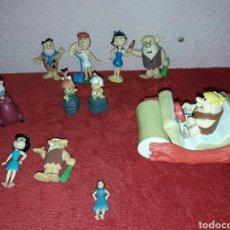 Figuras de Goma y PVC: LOTE DE 11 FIGURAS DE LOS PICAPIEDRA AÑOS 90. Lote 86105739