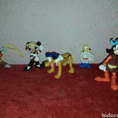 Figuras de Goma y PVC: LOTE DE 5 FIGURAS DISNEY MICKEY, PLUTO ETC... Lote 86112704