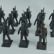 Figuras de Goma y PVC: LOTE DE 13 SOLDADOS DE AVIACION, REALIZADOS EN PLASTICO POR REAMSA. TAL Y COMO SE VEN EN LAS FOTOGRA. Lote 86255676