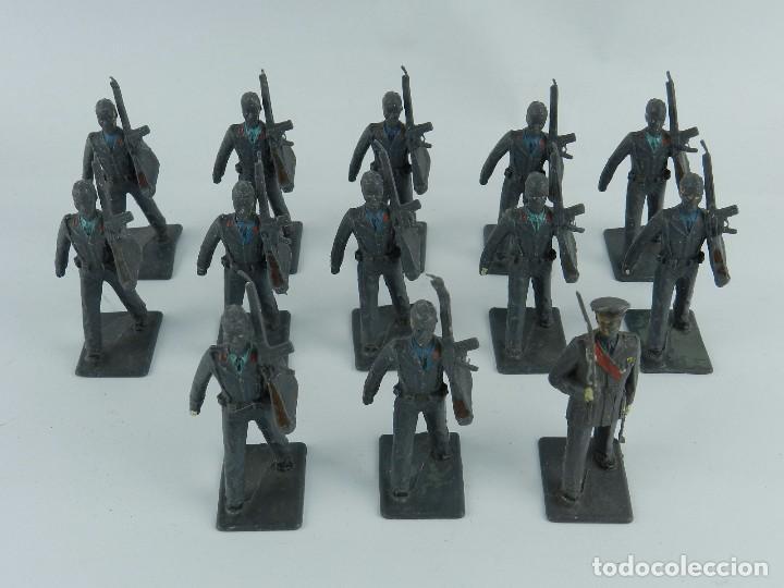 Figuras de Goma y PVC: LOTE DE 13 SOLDADOS DE AVIACION, REALIZADOS EN PLASTICO POR REAMSA. TAL Y COMO SE VEN EN LAS FOTOGRA - Foto 2 - 86255676