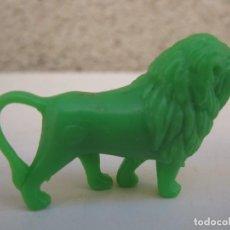 Figuras de Goma y PVC: LEÓN - FIGURA PROMOCIONAL DE PLÁSTICO - FIERAS DEL ZOO - DUNKIN - AÑOS 70.. Lote 86284460