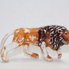 Figuras de Goma y PVC: ANIMALES ZOO DE COMANSI - LEON. Lote 86311552