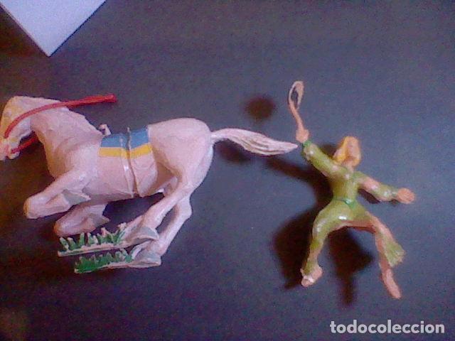 Figuras de Goma y PVC: figuras en plástico SIGRID estereoplast PINTADO A MANO CAPITAN TRUENO MUY DIFICIL CONSEGUIR - Foto 2 - 86318332