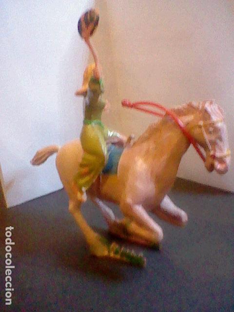 Figuras de Goma y PVC: figuras en plástico SIGRID estereoplast PINTADO A MANO CAPITAN TRUENO MUY DIFICIL CONSEGUIR - Foto 6 - 86318332