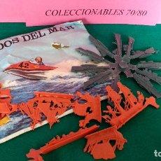 Figuras de Goma y PVC: SOBRE MONTAPLEX BOLIDOS DEL MAR ORIGINAL AÑOS 70 80. Lote 86339852