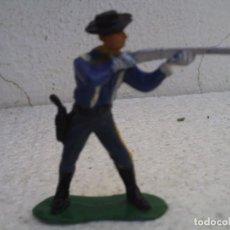 Figuras de Goma y PVC: SOLDADO DE LA BATALLA DEL LITTER BING HORN DE COMANSI. Lote 86383844