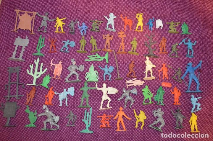 VINTAGE - LOTE GIGANTE ¡¡HAZME UNA OFERTA!! (Juguetes - Figuras de Goma y Pvc - Otras)
