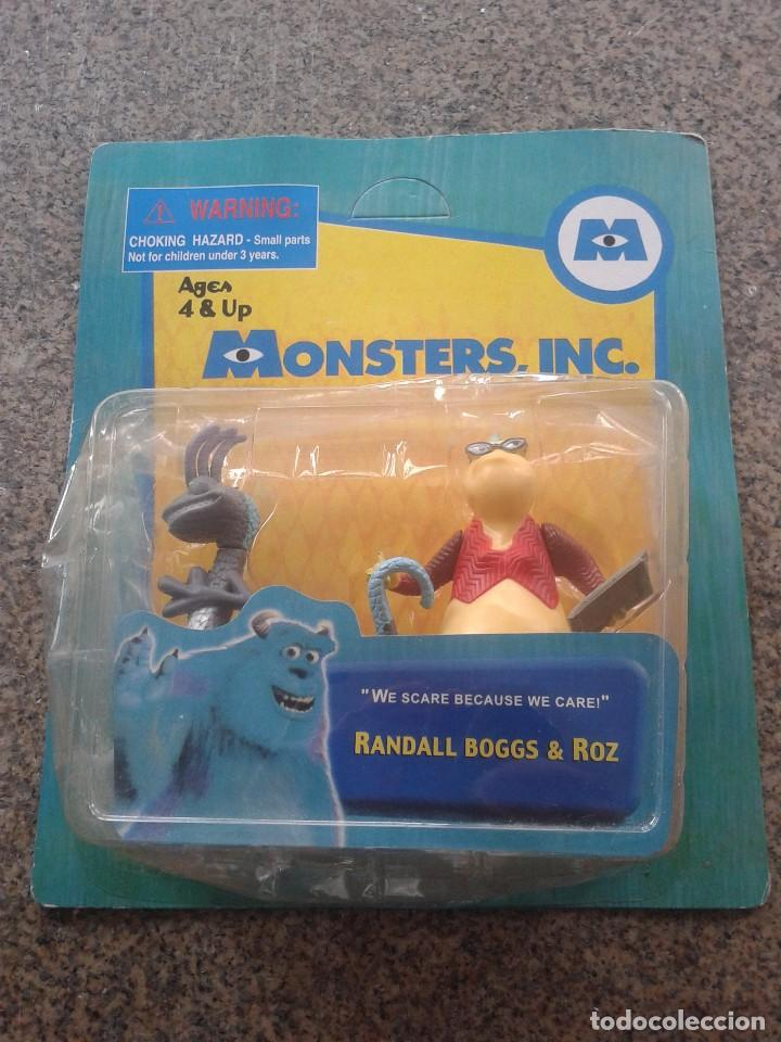MONSTERS, INC -- RANDALL BOGGS & ROZ -- MADE IN CHINA --