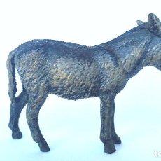 Figuras de Goma y PVC: BURRO/ASNO LINEOL 1930 ANIMALES DE GRANJA NO COMANSI, PECH, LAFREDO. Lote 86528452