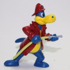 Figuras de Goma y PVC: FIGURA PVC DANONE DANONINO - DINO BOMBERO. Lote 86560120