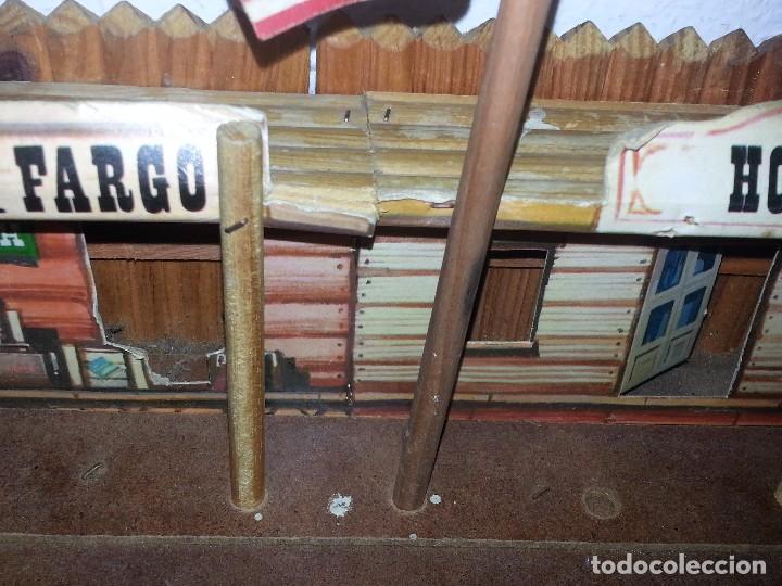 Figuras de Goma y PVC: COMANSI : ANTIGUO FUERTE DEL OESTE FORT FEDERAL EN MADERA DE 1ª ETAPA AÑOS 60 - Foto 6 - 86615624